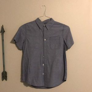 Boys shirt sleeve shirt